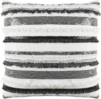 Safavieh Amalia Striped Fringe & Sequin Throw Pillow