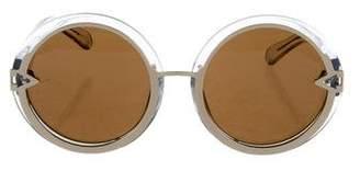 Karen Walker Oversize Orbit Sunglasses