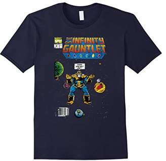 Marvel Thanos Infinity Gauntlet Comic Book Graphic T-Shirt