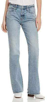 Current/Elliott The Jarvis High-Rise Flared Jeans in Hartley