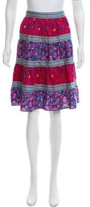 Marc by Marc Jacobs Printed Knee-Length Skirt