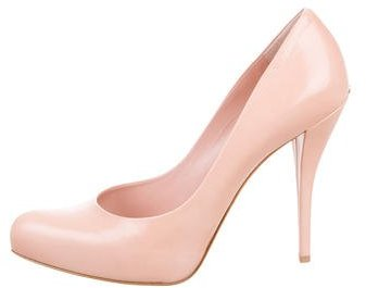 Christian Dior Leather Semi Pointed-Toe Pumps