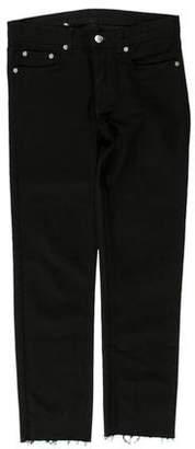BLK DNM Mid-Rise Straight-Leg Jeans