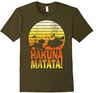 Disney Lion King Simba Hakuna Matata Sunset T-Shirt C1