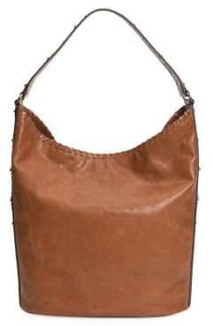 Frye Concho Studded Hobo Bag
