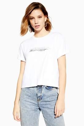 Topshop Hollywood Illustration T-Shirt
