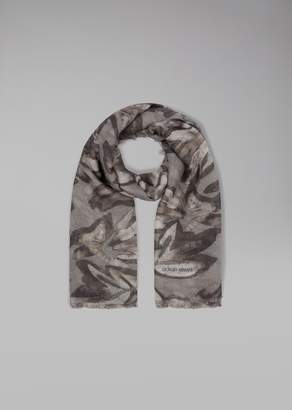 Giorgio Armani Brushed Fabric Scarf