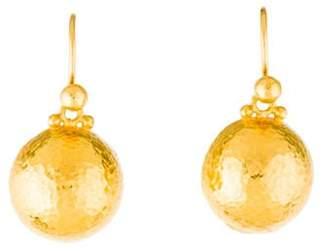 Gurhan 24K Classic Dome Earrings yellow 24K Classic Dome Earrings