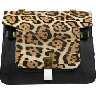 Vionnet Black Leather Handbag
