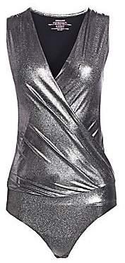 Commando Women's Sparkle Wrap Bodysuit