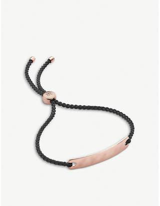 Monica Vinader Havana 18ct rose-gold vermeil mini friendship bracelet