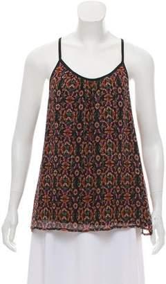 Rebecca Minkoff Silk Printed Blouse w/ Tags