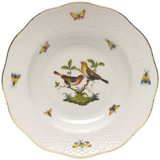 Herend Rothschild Bird Rimmed Soup Bowl, Motif #9