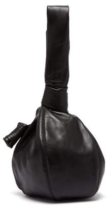 Lemaire - Ball Leather Clutch Bag - Womens - Black