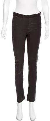 Rick Owens High-Rise Skinny Pants