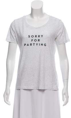 Milly Short Sleeve Printed Top