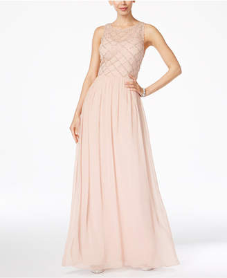 Adrianna Papell Beaded A-Line Gown $199 thestylecure.com