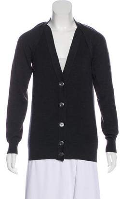 Maison Margiela Wool Lightweight Cardigan