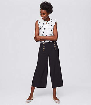 LOFT Fluid Sailor Pants