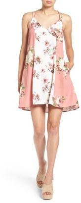 Women's Mimi Chica Floral Print Slipdress $46 thestylecure.com