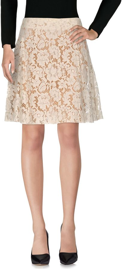Miu Miu MIU MIU Knee length skirts