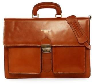 Persaman New York Pedro Italian Leather Briefcase