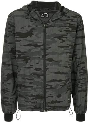 The Upside camouflage print hooded jacket