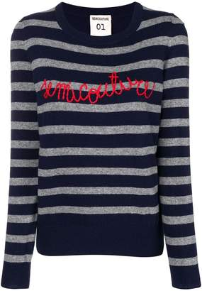 Semi-Couture Semicouture Molly Riga striped sweater