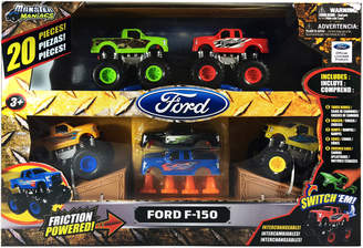 Monster Maniacs 20-Piece Ford F-150 Monster Trucks Playset