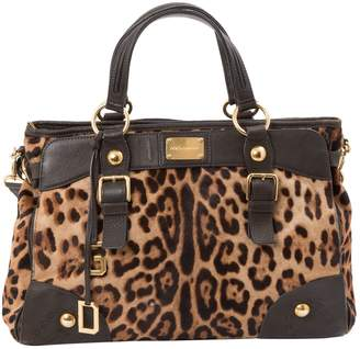 Dolce & Gabbana Pony-style calfskin handbag