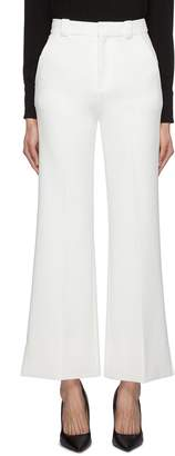 Roland Mouret 'Dilman' split cuff crepe cropped suiting pants