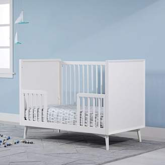 west elm Mid-Century Toddler Bed Conversion Kit - White