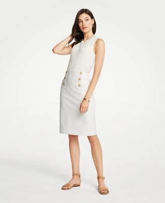 Ann Taylor Tall Striped Sailor Pencil Skirt