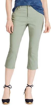 Chaps Mid-Rise Slim-Fit Capri Jeans