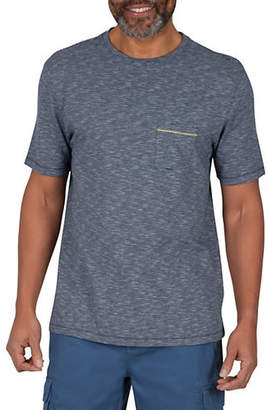 Haggar HERITAGE Slub Stripe Cotton T-Shirt