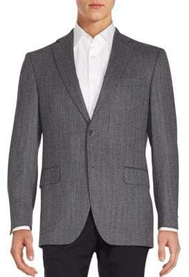 Saks Fifth Avenue Herringbone Sportcoat