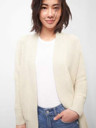 Gap Open-Front Cardigan in Textured Knit