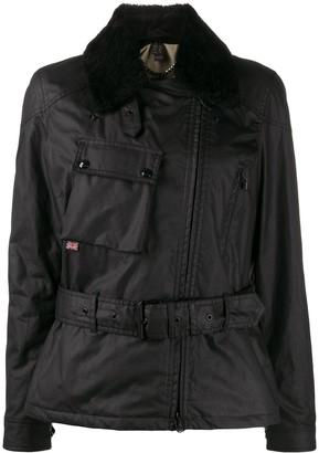 Belstaff Sammy Miller belted biker jacket