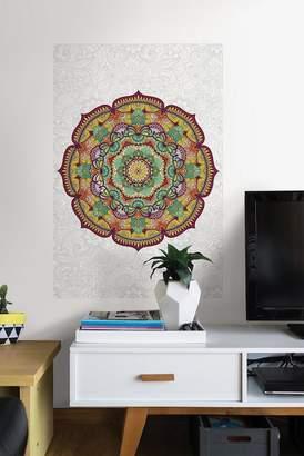 WallPops! Paradise Mandala Coloring Wall Decal