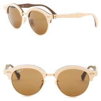 Ray-Ban Phantos 51mm Round Sunglasses