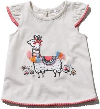 M&Co Llama fringe t-shirt