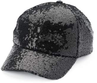 Chaps Women's Sequin Baseball Cap