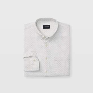 Club Monaco Slim Double-Faced Dot Shirt