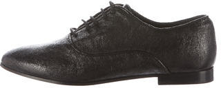 AllSaints Embossed Keiko Oxfords $100 thestylecure.com