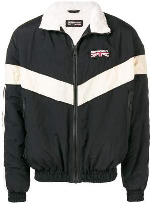 Represent sports bomber jacket