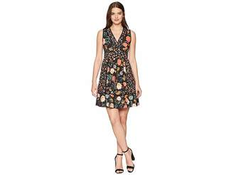 Kate Spade Blossom Fit and Flare Dress Women's Dress