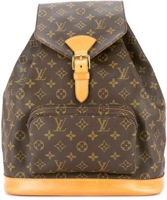 Louis Vuitton Pre-Owned Montsouris GM backpack