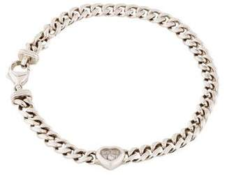 Chopard 18K Happy Diamonds Heart Bracelet