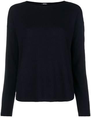 Aspesi round neck knitted top