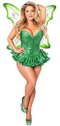 Daisy Corsets Women's Top Drawer Premium Sequin Fairy Corset Dress Costume